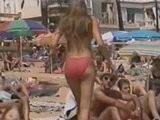 Sexy Nue Sien A L'air Sur La Plage Vidéo Voyeur