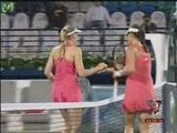 Ana Ivanovic & Nicole Vaidisova Dubai 2008