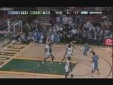 Allen Iverson Crosses Over Kevin Durant