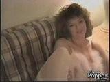 Diane Poppos Smokes A Cigarette