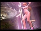 Dead Or Alive Volley-Kasumi Pole Dance Nude