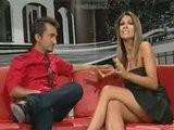 Alessia Ventura Upskirt Micro Skirt Long Legs TV Italienne