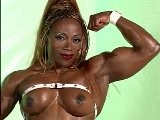 Desiree Ellis Nude Flexing And Working Out In Gym