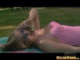 Alicia Silverstone In By The Pool