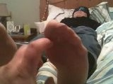 Wife's Silky Nylon Feet