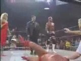 David Flair With Torrie Wilson Joins The NWo Wolfpac