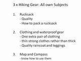 Hiking Gear For A Fun Hike