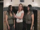 Mellie D, Redd Adaire & Kerry Marie Boobie Sandwich