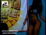 Johanna Maldonado...La Mejor Cola Colombiana En La Mesada Tv