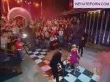 Alessia Marcuzzi Panties Upskirt - Live TV