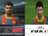 YouTube - Pro Evolution Soccer 2011 X Fifa 11 Faces -