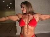 Gina Davis Erotic Huge FBB Female Muscle Bodybuilder 2