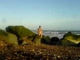 Slippery Rock Shoreham Naturist Beach, UK