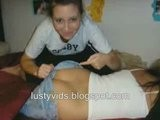Pantsed Girls: Girls' Pants Being Pulled Down Showing Ass
