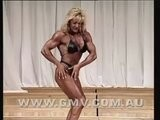 MASSIVE MUSCLE - Female Bodybuilder