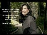 Amy Grant - Better Than A Hallelujah Slideshow With Lyrics