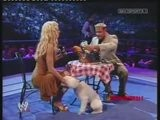 SmackDown 2004 : Torrie Wilson On Cafe De Rene