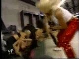 Lita Attacked By Torrie Wilson, Stacy Keibler & Ivory