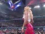 Torrie Wilson Pulls Down Stacy Keibler Skirt