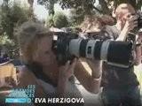 Eva Herzigova Breastfeeding