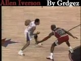 Allen Iverson Crossover Michael Jordan One Producion Of Grdg