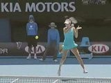 Ana Ivanovic Roger Federer 2009 Pub Rolex