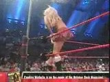 RAW 8.28.06 Spanking Match Torrie Wilson Vs Candice Michelle
