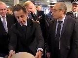 Nicolas Sarkozy Au Commissariat D'Orléans