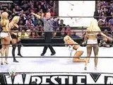 Torrie Wilson And Sable Vs Stacy Keibler And Miss Jackie