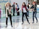 AnnaLynne McCord Goes Ice Skating With Her Sisters