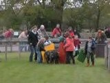Pig Race At Rare Breeds Country Farm