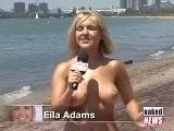 Naked News Eila Adams Et Natasha Nue A La Plage