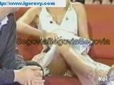 Federica Panicucci - Upskirt Mutande In TV
