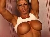 Melissa Dettwiller - Femal Bodybuilder Stripping Sample