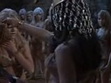 Prehistoric Women Catfight Scene