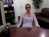 3Sexy Secretary In Glasses - Office Sex