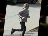 SNTV - Ashley Olsen Pounds The Pavement