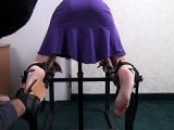 Tickle Intensive - Violetta Tickled In Nylons! HD