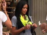 Singer Cassie Ventura Eats Out With Friends In New York
