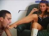 Femdom Foot Fetish Russian Mistress