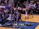 Derek Fisher Misses The Initial Shot But Kobe Bryant Grabs T