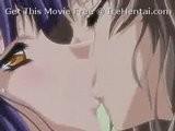 Hot Lesbian Kissing - Hentai Vid