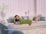 Alyssa Milano In 2 Veet TV Spots