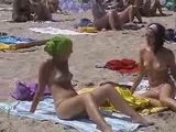 2 Girls On The Beach Small Tits