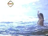 Salma Hayek Nude At The Beach
