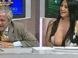Marika Fruscio Side Boob Nip Slip