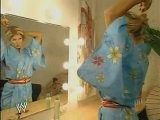 Torrie Wilson Getting Ready For Her Match