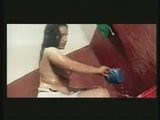 Sexy South Indian Nude Actress Bathing In B Grade Movie