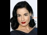 Dita Von Teese And Her Classic Hair And Makeup
