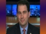 Gov. Walker Stands Firm On Union Reform